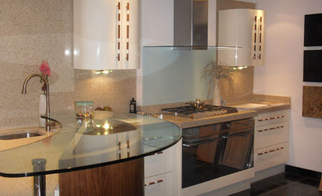 Granite quartz kitchen worktops